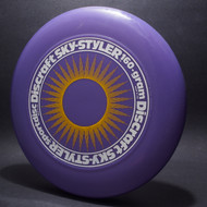 Sky-Styler Sun Purple w/ Yellow Matte Sun and White Matte Ring - Tooled Ring