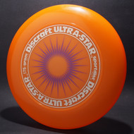 UltraStar StarBurst Orange  w/ Metallic Brushed Silver and Purple Matte - NR