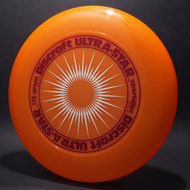 UltraStar StarBurst Orange  w/ Burgundy and White Matte - NR
