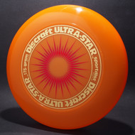 UltraStar StarBurst Orange  w/ Metallic Gold and Red Matte - NR