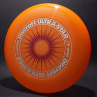 UltraStar StarBurst Orange  w/ Metallic Brushed Silver and Burgundy Matte - NR