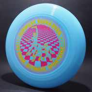UltraStar Players Grid Light Blue  w/ Metallic Gold and Pink Matte misprint