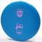 Discmania P-Line P2 Soft Blue Meyallic Purple Top View
