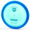 Discmania C-Line FD2 - First Run (2019 Retool) Blue / Metallic Blue Top View