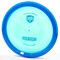 Discmania C-Line FD2 - First Run (2019 Retool) Blue / Metallic Blue Bottom View