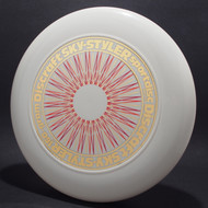 Sky-Styler Rare Stock Spirograph White w/ Gold, Orange and Red-NT