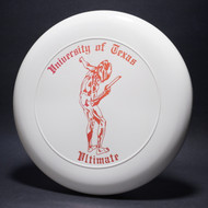Sky-Styler University of Texas Ultimate White w/ Red Metallic-TR Top View