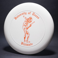 Sky-Styler University of Texas Ultimate White w/ Orange Matte-TR Top View