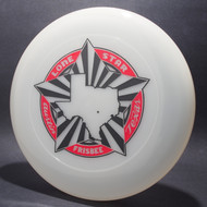 Sky-Styler Lone Star Austin Texas Frisbee Clear w/ Red and Black Matte - TR
