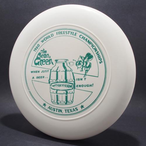 Sky-Styler 1980 World Freestyle Austin Mean Green White w/ Green Matte - TR Top View
