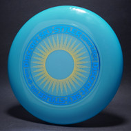 Sky-Styler Sun Blue w/ Yellow Matte Sun and Metallic Blue Ring - No Tooling - Top View