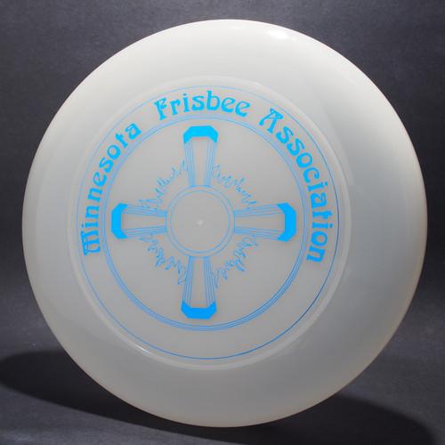 Sky-Styler Minnesota Frisbee Association Clear w/ Metallic Blue Top View