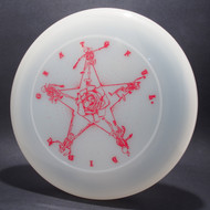 Sky-Styler Grateful Disc Skeletons and Rose Clear w/ Red Matte - NT
