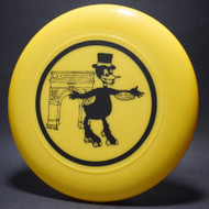 Paris Duck Disc and Skates Yellow w/ Black Top View