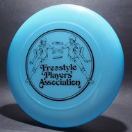 Original Freestyle Players Association Logo Opaque Blue w/ Black Matte - T80 - Top View