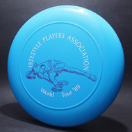 Sky-Styler FPA 1989 World Tour Opaque Blue w/ Matte White Text and Purple Skippy Gitus - T80 - Top View