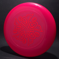 Sky-Styler 1987 FPA Translucent Pink w/ Metallic Red - T80 - Top View