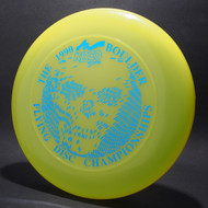 Sky-Styler 1990 Boulder FDC Bright Yellow w/ Metallic Blue - T90 - Top View