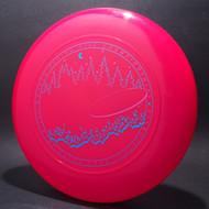 Sky-Styler 1991 WFDF Santa Cruz Bright Pink w/ Metallic Blue and Metallic Purple - T90 - Top View