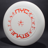 Sky-Styler NYC Style White w/ Metallic Red - T90 - Top View