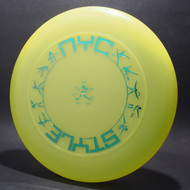 Sky-Styler NYC Style Bright Yellow w/ Metallic Blue - T90 - Top View