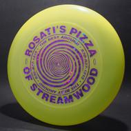 Sky-Styler Rosati's Pizza of Streamwood Bright Yellow w/ Metallic Purple Shatter - T90 - Top View