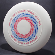 Sky-Styler United Flyers of Sonoma (UFOs) 82 Mountain Festival White w/ Red and Blue Matte - T80 - Top View