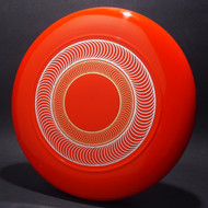 Sky-Styler Spirals Orange w/ Metallic Silver and Gold - No Tooling - Top View