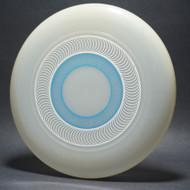 Sky-Styler Spirals Clear w/ Metallic Silver and Light Blue Matte - T80