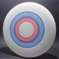 Sky-Styler Spirals Clear w/ Blue Matte and Red Matte - T80 - Top View