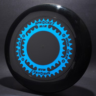 Sky-Styler Sprocket Man High Gear Black w/ Metallic Blue - T80 - Top View