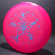 Sky-Styler Grateful Disc Skeletons and Rose Bright Pink w/ Metallic Blue - T80 - Top View