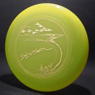 Sky-Styler Stinson Pelicans Translucent Green w/ Metallic Gold - T80 - Top View
