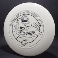 Sky-Styler 1992 FPA Freestyle Players Association Tour Disc White w/ Black Matte - T80 - Top View