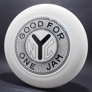 Sky-Styler NYC Good For One Jam Token White w/ Black Matte Top View