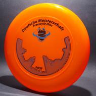 Sky-Styler 2009 Deutsche Meisterschaft Bright Orange w/ Metallic Blue and Black Matte Top View