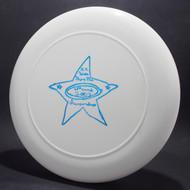 Sky-Styler 2003 AZ State Flying Disc Championships White w/ Metallic Blue Top View