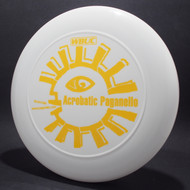 Sky-Styler WBUC Acrobatic Paganello White w/ Matte Yellow Top View