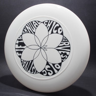 Sky-Styler Fifth Annual Chico Harvest Disc Festival White w/ Black Matte - T80 - Top View