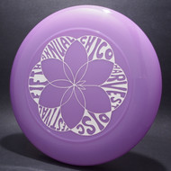 Sky-Styler Fifth Annual Chico Harvest Disc Festival Purple w/ White Matte - T80 Top View