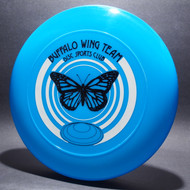 Sky-Styler Buffalo Wing Team Disc Sports Club Blue w/ White and Black Matte - TR - Top View