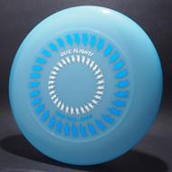 Sky-Styler Disc Flights Blue w/ Metallic Blue and Metallic Silver - T80 - Top View