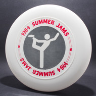 Sky-Styler 1984 Summer Jams White w/ Red and Black Matte - T80 - Top View