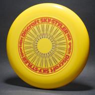 Sky-Styler Rare Stock 3-Color Spirograph Yellow w/ Metallic Burgandy, Gold and Black Matte NT