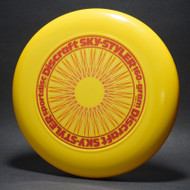 Sky-Styler Rare Stock 3-Color Spirograph Yellow w/ Metallic Burgandy,  Gold and Red Matte NT