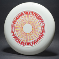 Sky-Styler Rare Stock 3-Color Spirograph White w/ Gold Metallic, Silver & Red Matte NT