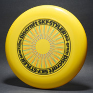 Sky-Styler Rare Stock 4-Color Spirograph Yellow w/ Black, Gold Metallic, Orange & Lt Blue Matte NT