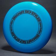 Sky-Styler Stock Open Center Original Stamp Blue w/ Black Matte Ring - TR