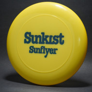 Sky-Styler Sunkist Sunflyer Yellow w/ Black Matte - NT - Top View