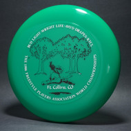 1986 FPA World Championships Green w/ Metallic Silver and Black Matte Top View